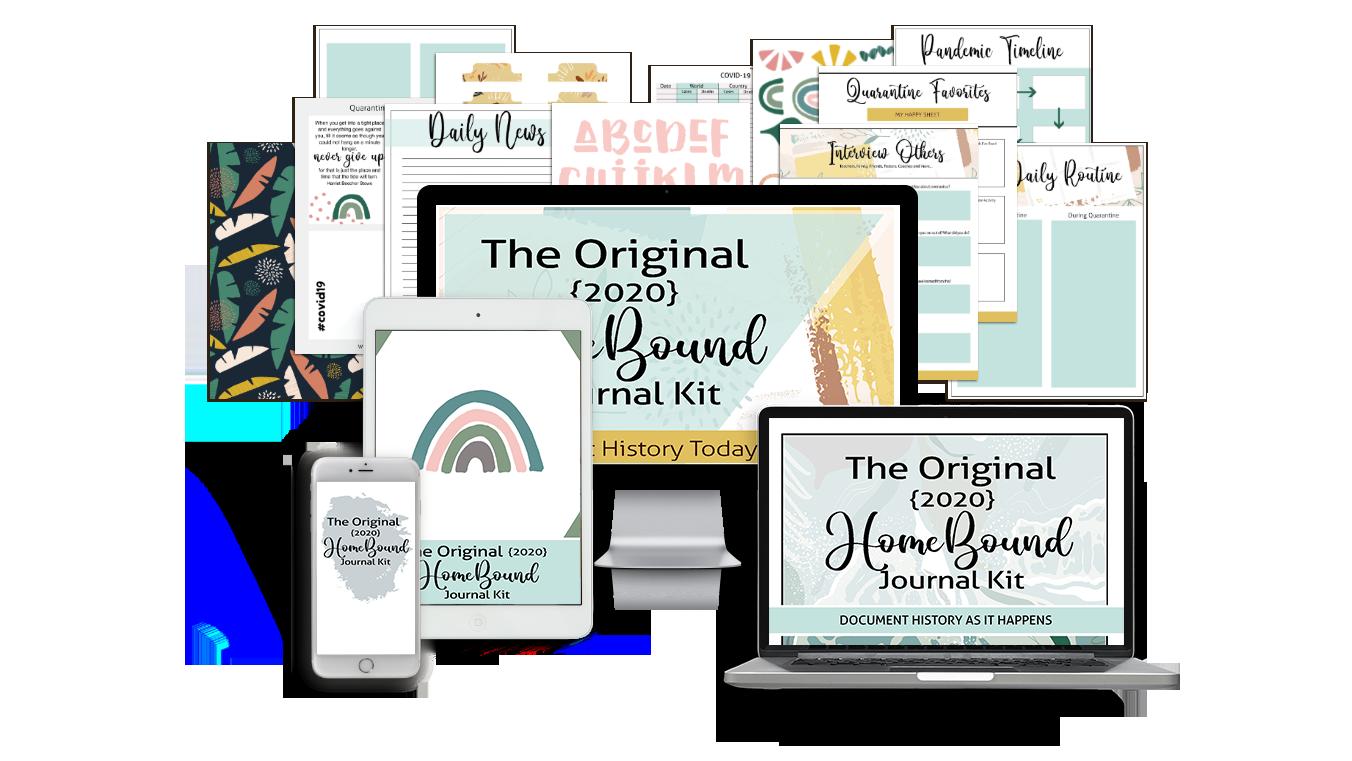 HomeBound Quarantine Journal Kit