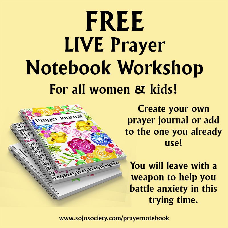 Free Prayer Journal Workshop